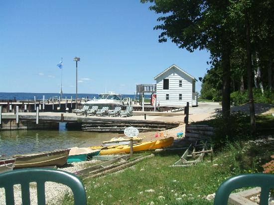 Sister Bay, : Boat house &amp; piers