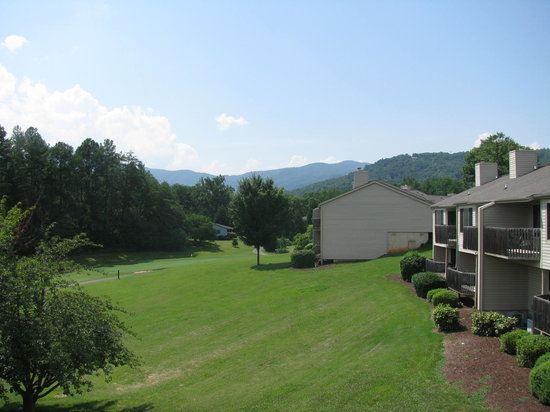 Fairways of the Mountains: view from our deck