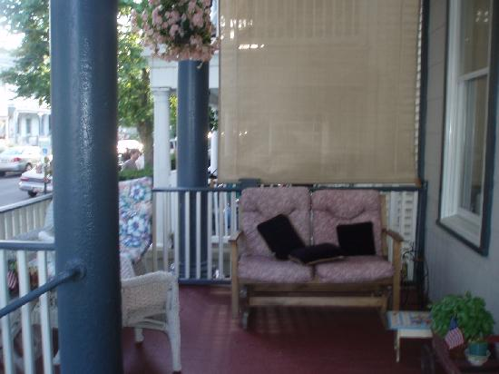 The Inn at Ocean Grove: front porch