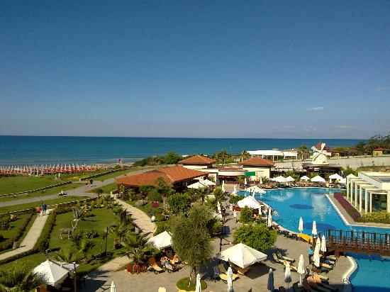 Alba Royal Hotel: View from balcony