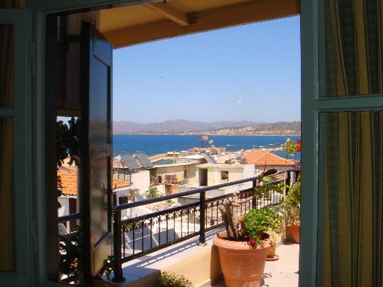 El Greco Hotel: View from our room