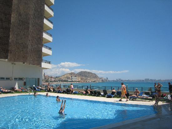 Def not a hot tub picture of melia alicante - Hotels in alicante with swimming pool ...