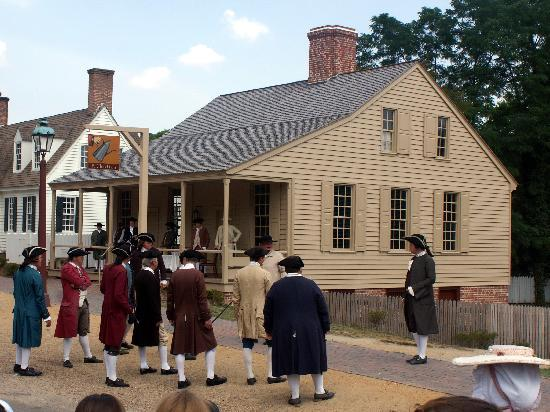 Colonial Williamsburg Re Enactors Picture Of King S