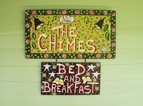 Chimes Bed and Breakfast: Welcome to the Chimes.