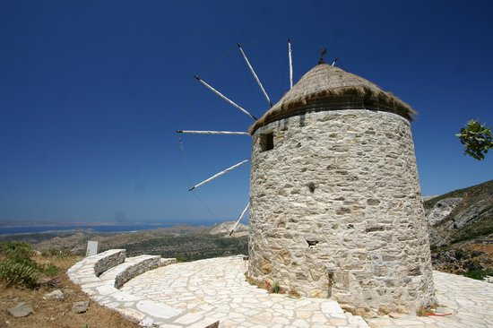 Windmill top of Naxos