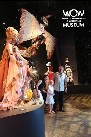 The WearableArt Gallery - World of Wearable Art & Classic Cars Museum.