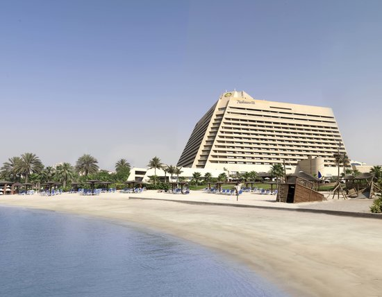 Radisson Blu Resort Sharjah: Hotel Beach View