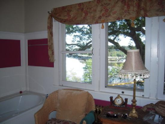 White Rose Inns: view from the room