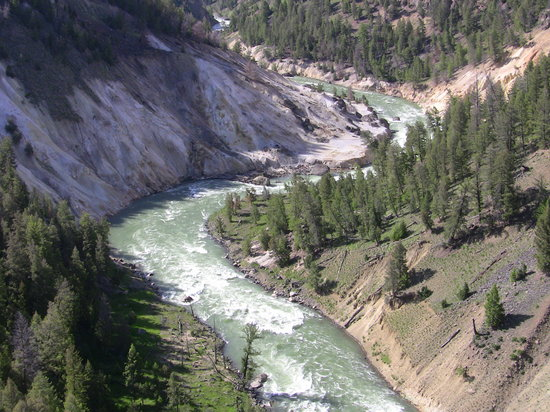 Parc national de Yellowstone, WY : Yellowstone NP