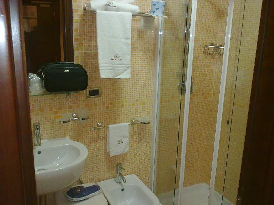 Le Cheminee Business Hotel: Normal bathroom, very clean, but very small shower....