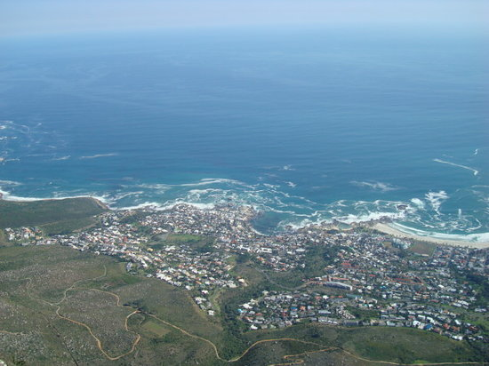 Blouberg, Sydafrika: View from Table Mountain