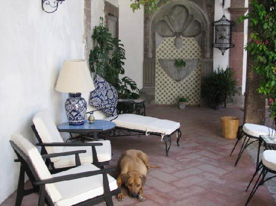 Casa Carmen: Areas to relax