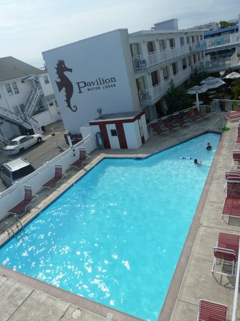 Pavilion Motor Lodge: Poolview Main Building