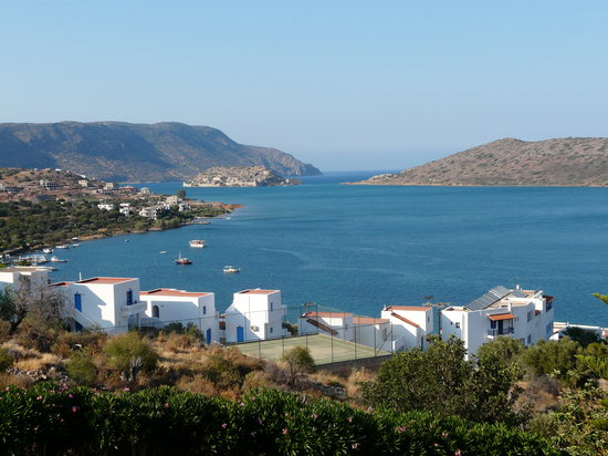 Elounda, Greece: Udsigt fra hotelvrelset