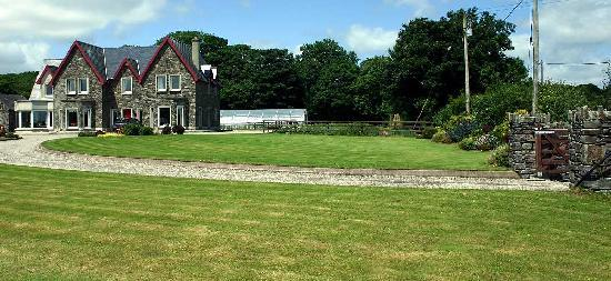 Dunmanway, Ireland: Lovely gardens with the home-grown ingredients too