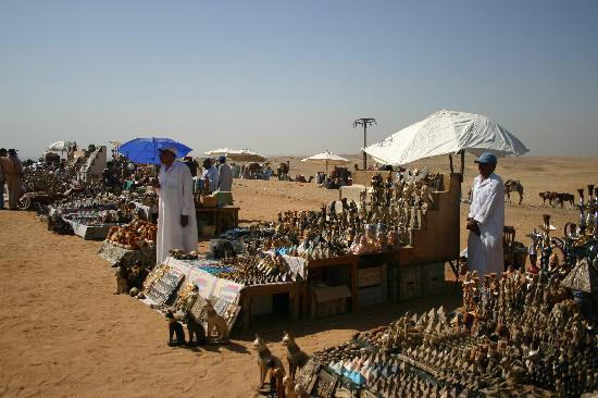 Giza, Egypt: Archeological artifacts...from China?