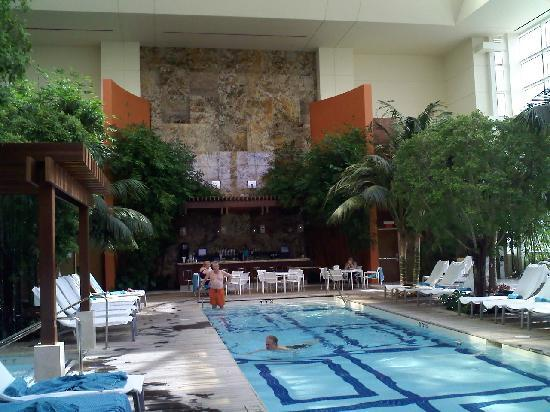 The Water Club by Borgata: *Their beautiful indoor tropical paradise*
