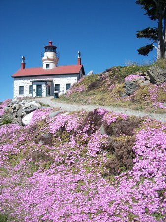 Crescent City, Californië: Battery Lighthouse