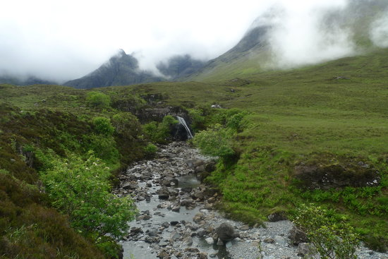 Carbost, UK: Glen Brittle, Fairy Pools walk