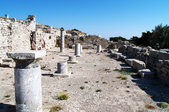 Kamari, Greece: thera ruins