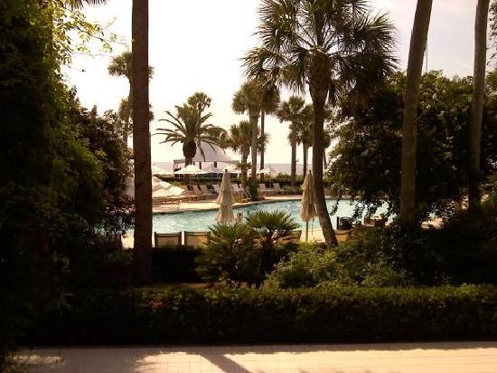 The Cloister at Sea Island: View from adult pool