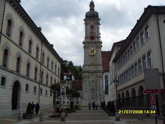 St. Gallen, İsviçre: The town