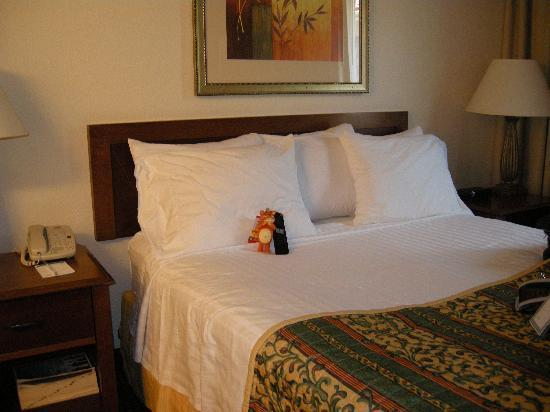 Residence Inn Houston West University: Bed