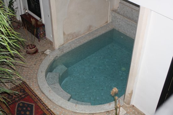 Riad Zenith: Piscina