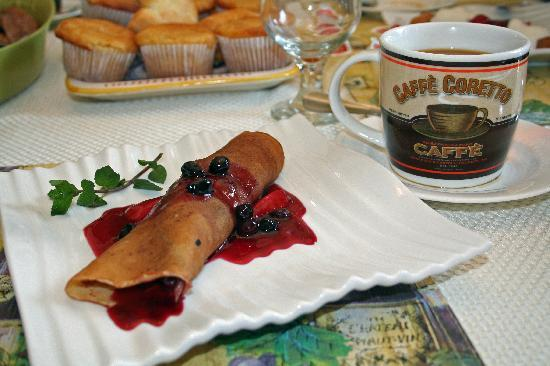 Via Veneto: breakfast dessert!