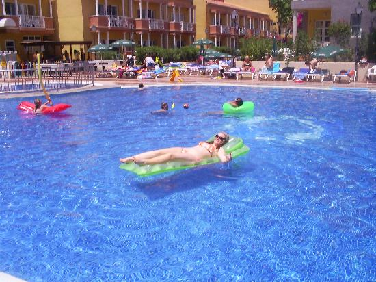 Compostela Beach Golf Club: In the pool