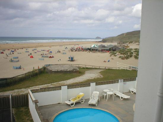 ‪‪Perranporth‬, UK: View from room‬