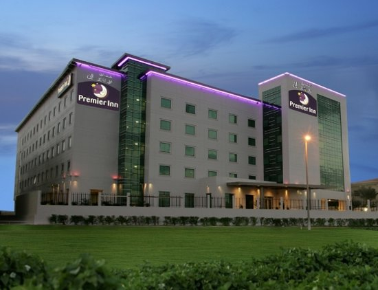 ‪فندق بريمير ان المطار: Premier Inn Dubai International Airport Exterior View‬