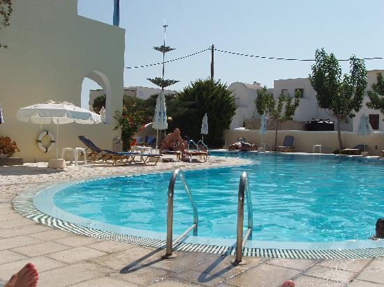 Hotel Hippocampus: Pool area