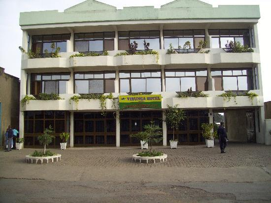 Virunga Hotel: From the front