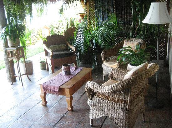 Villa Sumaya: Our personal patio