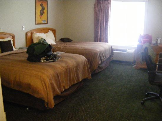 Candlewood Suites Stevensville: sleeping area