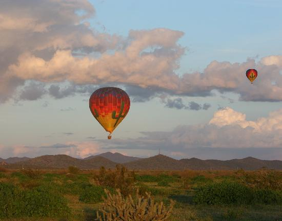 Chandler, AZ: Hot Air Balloon Expeditions