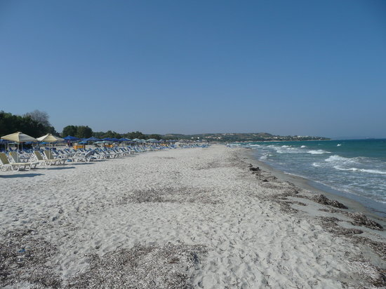 Mastichari, Greece: Beach