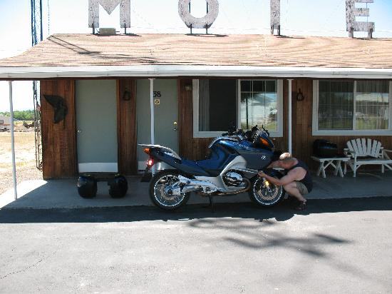 Rim Rock Motel: Perfect for motorcyclists