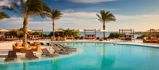 Santa Barbara Beach & Golf Resort, Curacao: Resort Pool with Caribbean Views