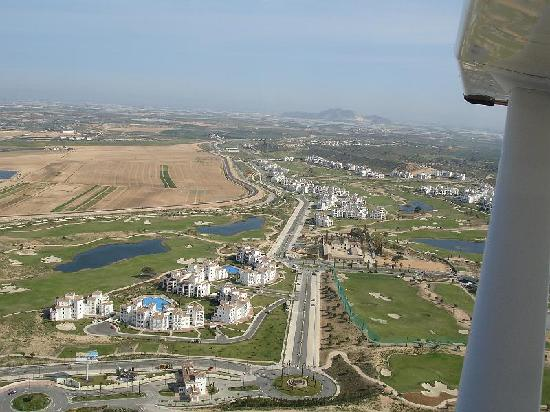 Sucina, Spanien: view of the resort from the air
