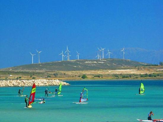 Windsurfers paradise at Alacati