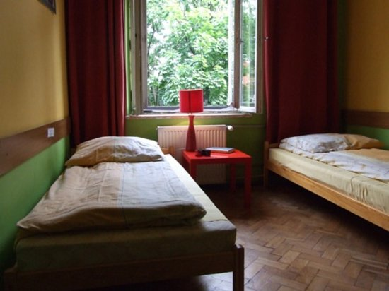Orange Hostel Krakow: Twin room