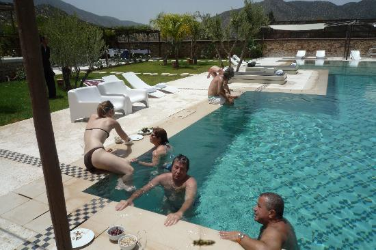 DOMAINE MALIKA Atlas mountains Hotel: Picine en famille