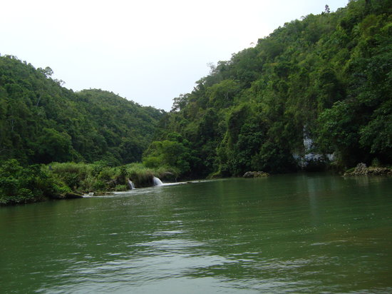 Bohol, Filippinerna: Loboc River