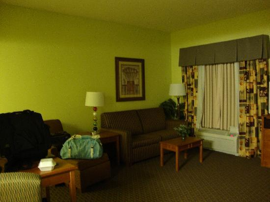 Hampton Inn & Suites Moline-Quad City International Airport: Lots of room to sit and relax