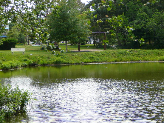 Rehoboth Beach, DE: Lake Gerar &amp; park