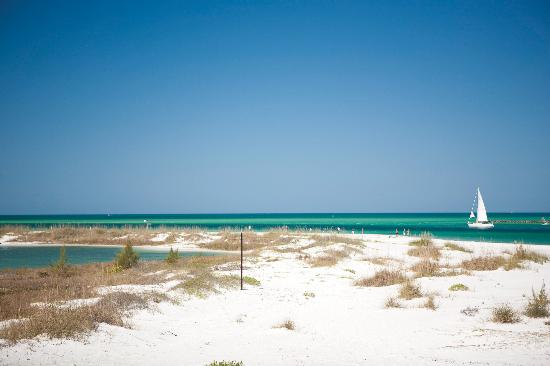Longboat Key, FL: 11 miles to Surgar White Beaches