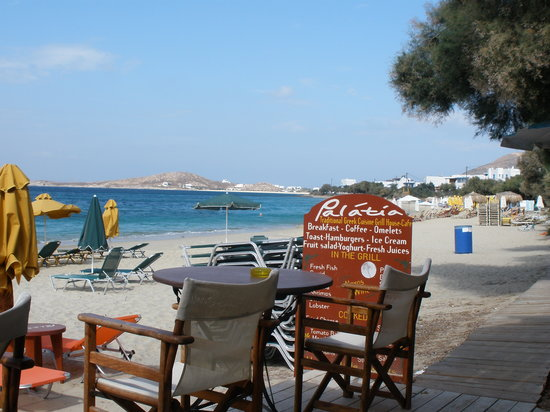 Summer Dream ll: Agia Anna Beach cafes