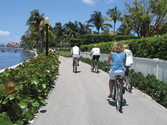 Palm Beach, : Bike Path, Palm Beach